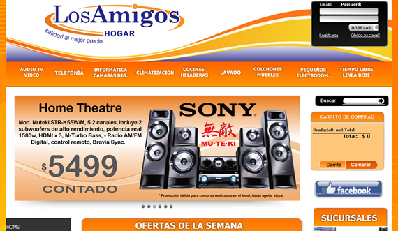 Great All Digital - Sitio E-commerce